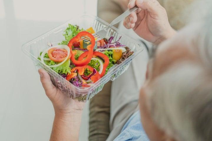 תזונה בריאה בגיל השלישי